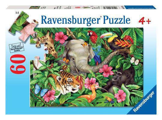 Puzzle-Tropical Friends Cover Image