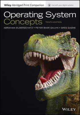 Operating System Concepts, 10e Epub Reg Card Abridged Print Companion Set Cover Image