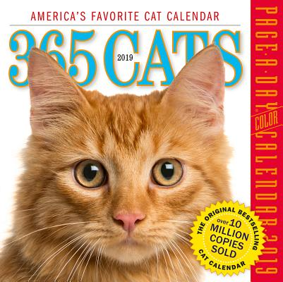 365 Cats Page-A-Day Calendar 2019 Cover Image