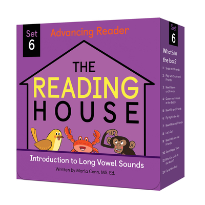 The Reading House Set 6: Introduction to Long Vowel Sounds Cover Image