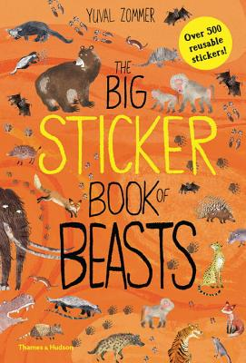 The Big Sticker Book of Beasts (The Big Book Series) Cover Image