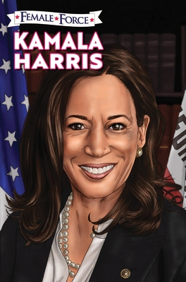 Female Force: Kamala Harris Hard Cover Edition Cover Image