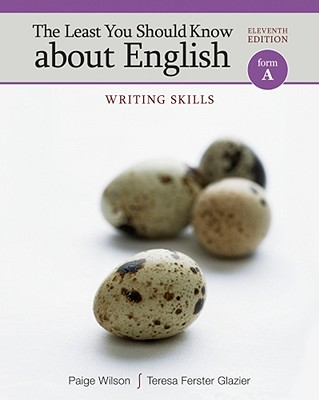 The Least You Should Know about English, Form A: Writing Skills Cover Image