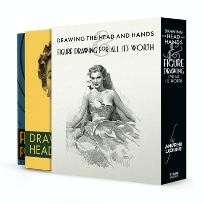 Drawing the Head and Hands & Figure Drawing (Box Set) Cover Image