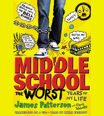Middle School, the Worst Years of My Life [With Earbuds] Cover Image