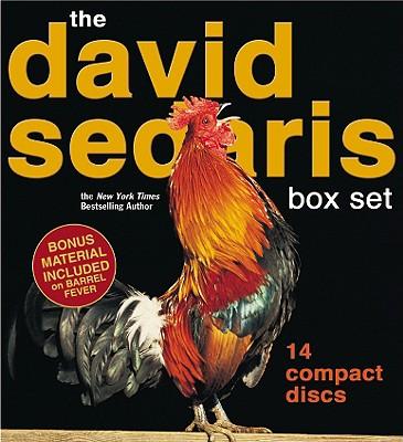 David Sedaris - 14 CD Boxed Set Cover