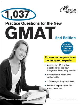 1,037 Practice Questions for the New GMAT Cover