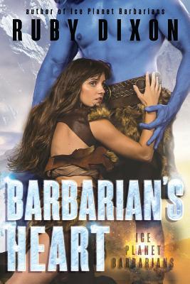 Barbarian's Heart: A Scifi Alien Romance Cover Image