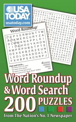 USA TODAY Word Roundup and Word Search: 200 Puzzles from The Nation's No. 1 Newspaper (USA Today Puzzles #6) Cover Image