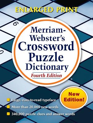 Merriam-Webster's Crossword Puzzle Dictionary Cover Image