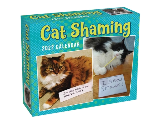 Cat Shaming 2022 Day-to-Day Calendar Cover Image