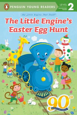 The Little Engine's Easter Egg Hunt (The Little Engine That Could) Cover Image