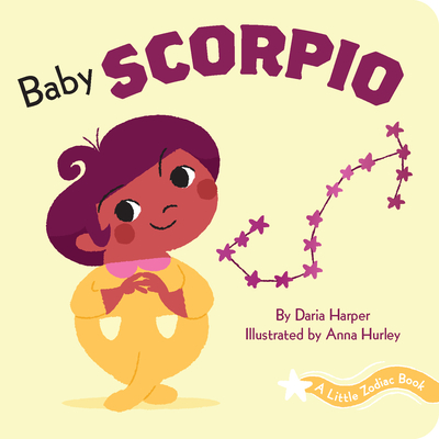 A Little Zodiac Book: Baby Scorpio Cover Image