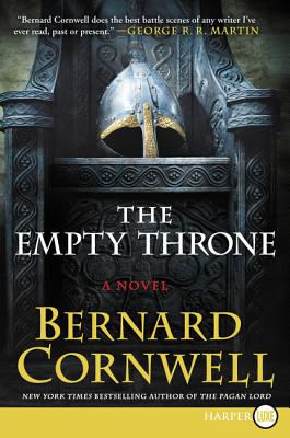 The Empty Throne: A Novel (Saxon Tales #8) Cover Image