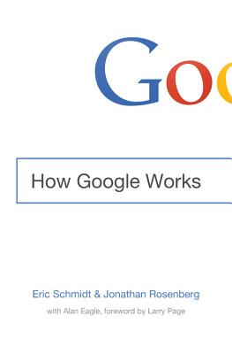 How Google Works Cover
