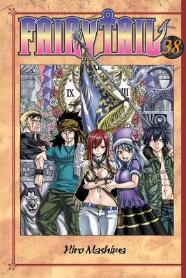 Fairy Tail, Volume 38 Cover