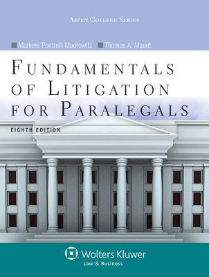 Fundamentals of Litigation for Paralegals (Aspen College) Cover Image