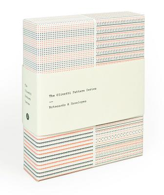 The Olivetti Pattern Series: Notecards & Envelopes (stationery set features vintage patterns from Olivetti typewriters, 12 notecards,3 designs) Cover Image