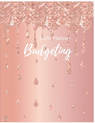 2020 Budgeting Planner: Luxury Pastel Monthly Planner: 2020 Monthly Financial Budget Planner: Bill Organizer Notebook: Weekly & Monthly Calend Cover Image