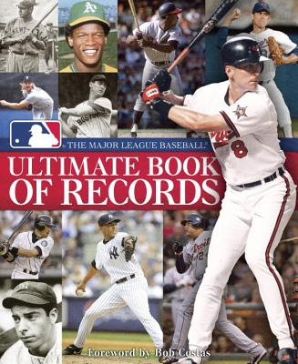 The Major League Baseball Ultimate Book of Records Cover