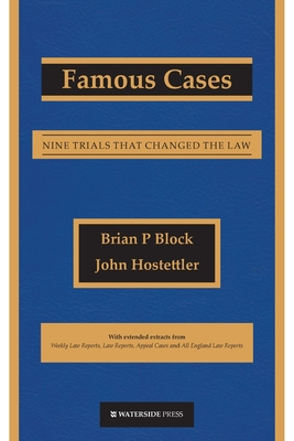 Famous Cases: Nine Trials that Changed the Law Cover Image