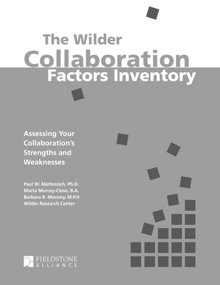Collaboration Factors Inventory Cover