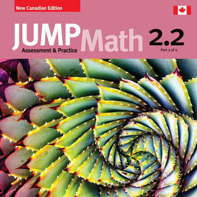 Jump Math AP Book 2.2: New Canadian Edition Cover Image