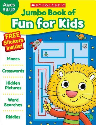 Jumbo Book of Fun for Kids Workbook Cover Image