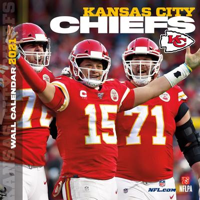 Kansas City Chiefs 2021 12x12 Team Wall Calendar Cover Image