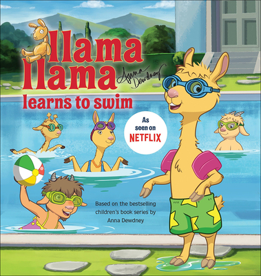 Llama Llama Learns to Swim Cover Image