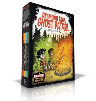 The Desmond Cole Ghost Patrol Collection #2: The Scary Library Shusher; Major Monster Mess; The Sleepwalking Snowman; Campfire Stories Cover Image