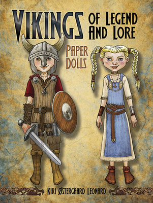 Vikings of Legend and Lore Paper Dolls Cover Image