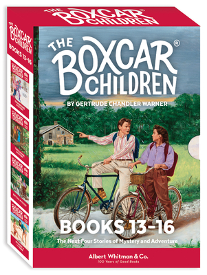The Boxcar Children Mysteries Boxed Set #13-16 cover