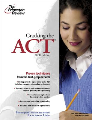 Cracking the ACT, 2008 Edition Cover Image