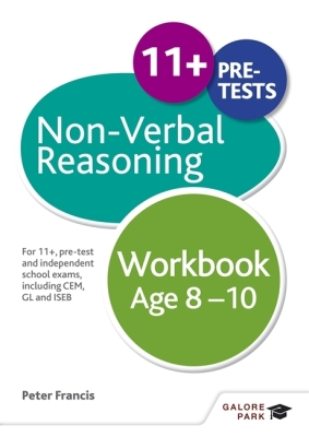 Non-Verbal Reasoning Workbook Age 8-10 Cover Image