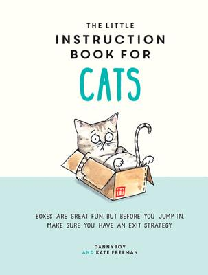 The Little Instruction Book For Cats Cover Image