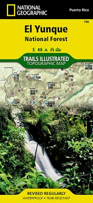 El Yunque National Forest (National Geographic: Trails Illustrated Maps #790) Cover Image