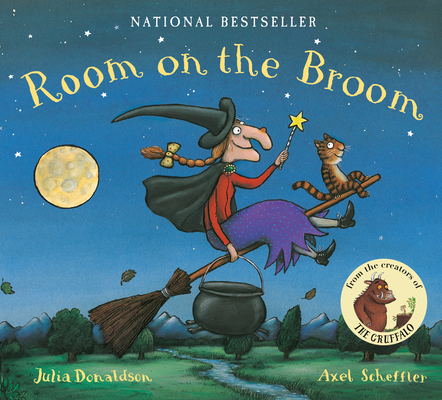Room on the Broom Lap Board Book Cover Image