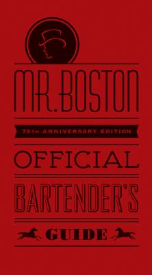 Mr. Boston Official Bartender's Guide Cover Image