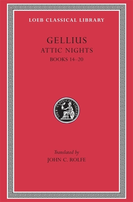 Cover for Attic Nights (Loeb Classical Library #212)