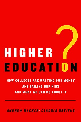 Higher Education? Cover