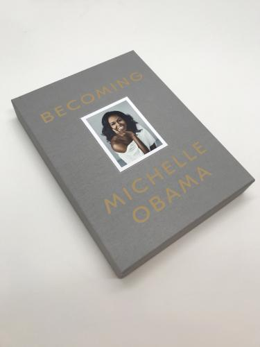Becoming Deluxe Signed Edition  cover