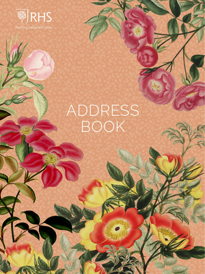 Royal Horticultural Society Desk Address Book Cover Image