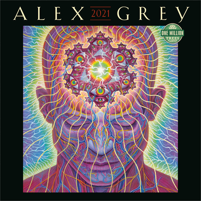 Alex Grey 2021 Wall Calendar Cover Image