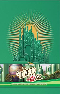 Cover for The  Wizard of Oz Hardcover Ruled Journal (Classics)