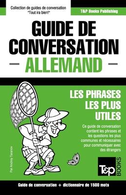 Guide de conversation Français-Allemand et dictionnaire concis de 1500 mots (French Collection #21) Cover Image