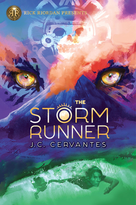 The Storm Runner (A Storm Runner Novel, Book 1) Cover Image