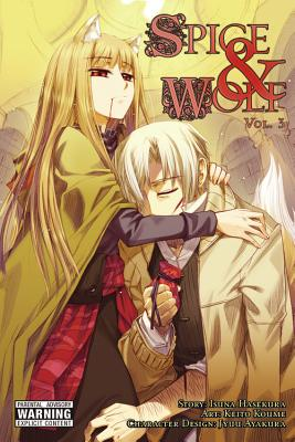Spice and Wolf, Volume 3 Cover