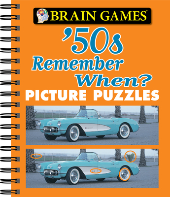 Brain Games - Picture Puzzles: '50s Remember When? Cover Image