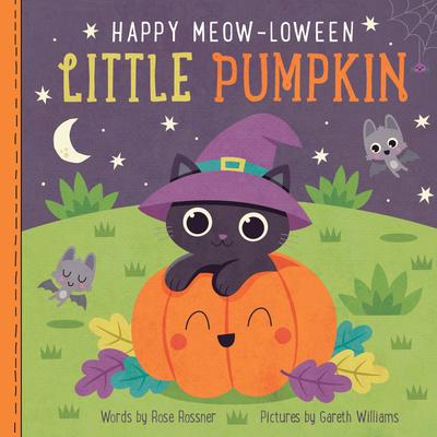 Happy Meow-Loween Little Pumpkin Cover Image